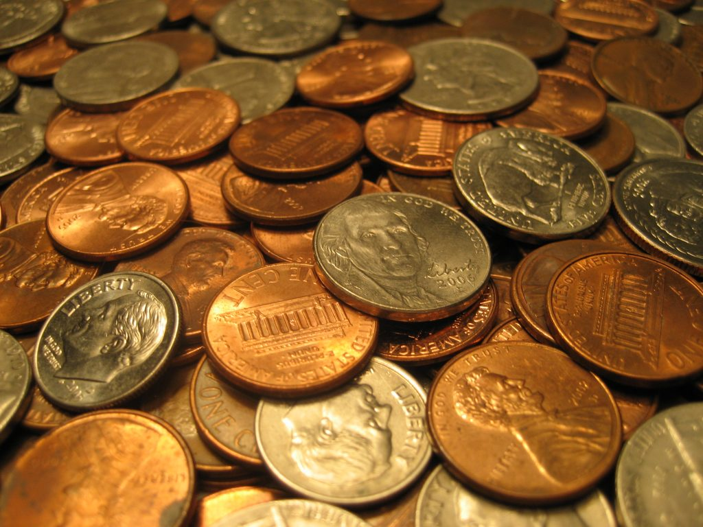 coins money picture naming for speech therapy