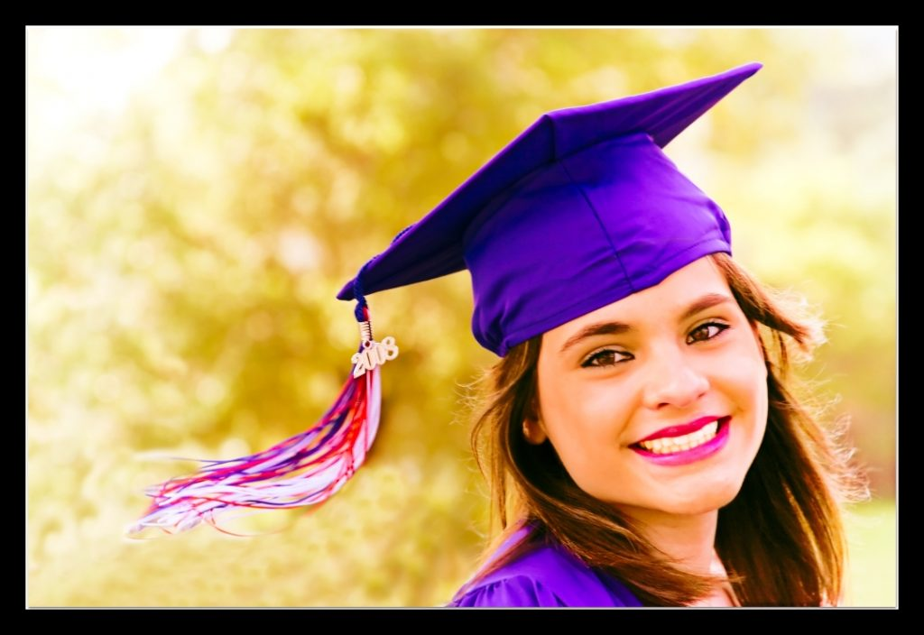 graduation woman picture naming for speech therapy