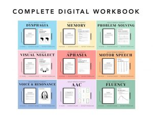 The Complete Digital Adult Speech Therapy Workbook
