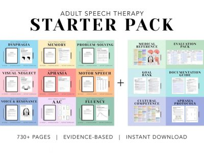 The Adult Speech Therapy Starter Pack